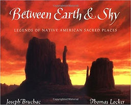 Joseph Bruchac, Books about Native Americans for Kids, Between Earth and Sky