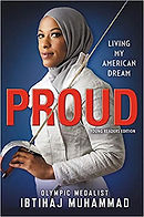 Proud, Ibtihaj Muhammad, books about american athletes. living books about athletes, living books about sports, books about muslims in america for kids, book about islam in america for kids