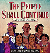 The people shall continue, picture books abou Native Americans, Native American history for kids