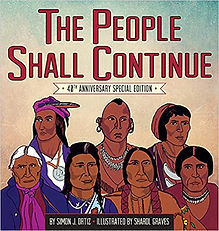 The People Shall Continue, Native AMerican History for Kids, childrens books about Native american history