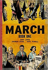 graphic novels about american history, books about the civil rights movement, book about