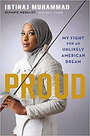 books about for muslims in america, Proud, Ibtihaj Muhammad, books about fencing for kids, books about olympics, living books about sports, inspiration sport biographies