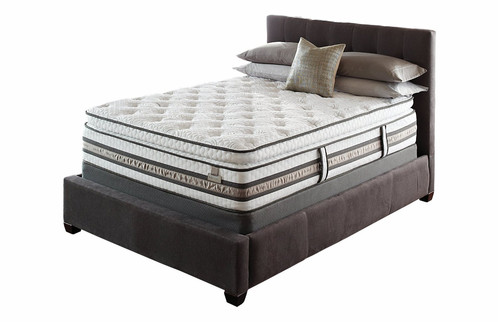 This Mattress Combines The Cushioning Comfort Of A Pillow Top With Individualized Support An Advanced Innerspring