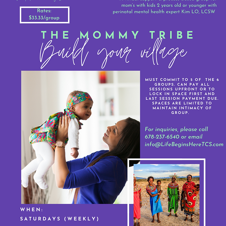 The Mommy Tribe: Build Your Village (1)