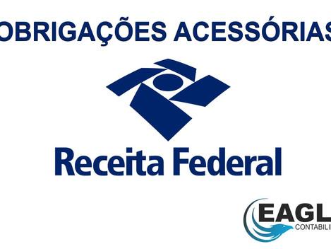 Você conhece essas obrigações acessórias da RFB?
