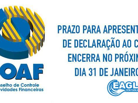 COAF Contadores - Prazo Final.