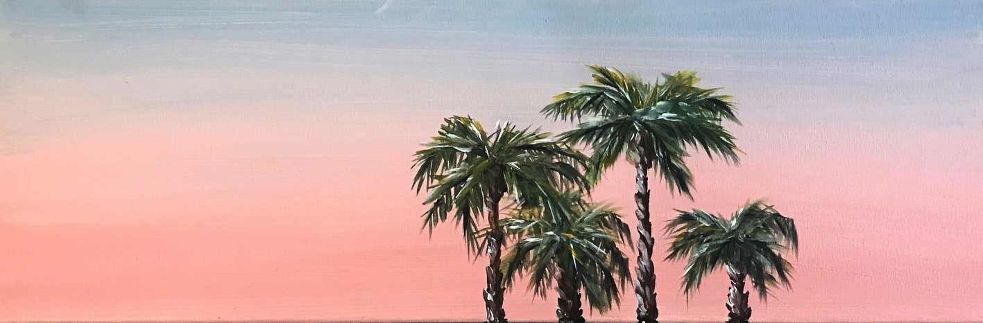 Panoramic_Sunset_Palms