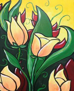 Bold_Peach_Tulips