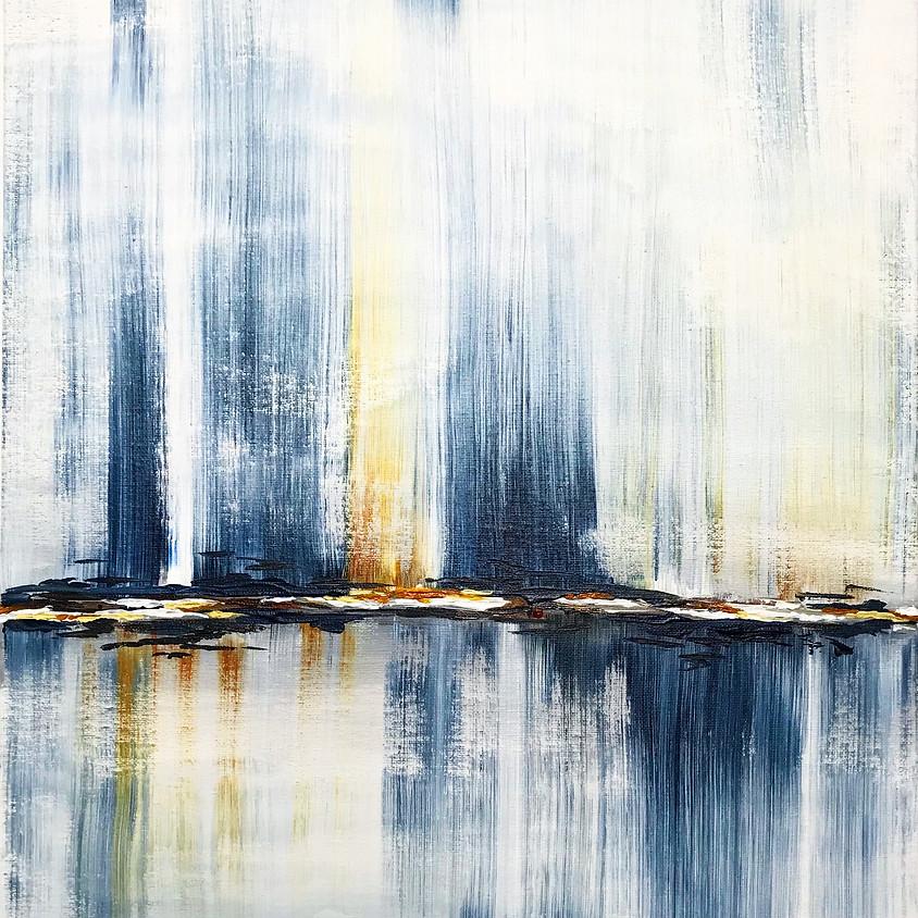Rain Shower - Abstract Acrylic Painting