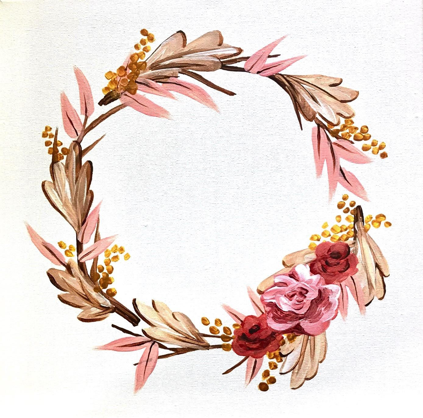 Golden_Peachy_Wreath