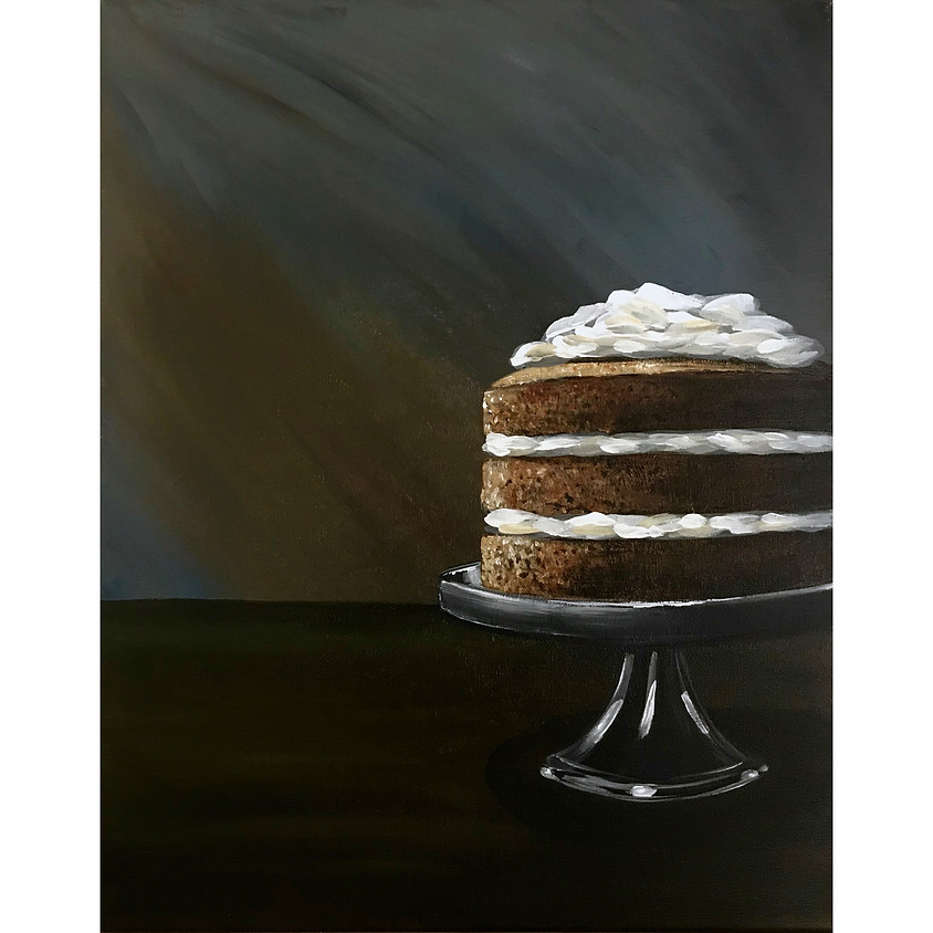 """""""The Naked Cake"""" Painting"""