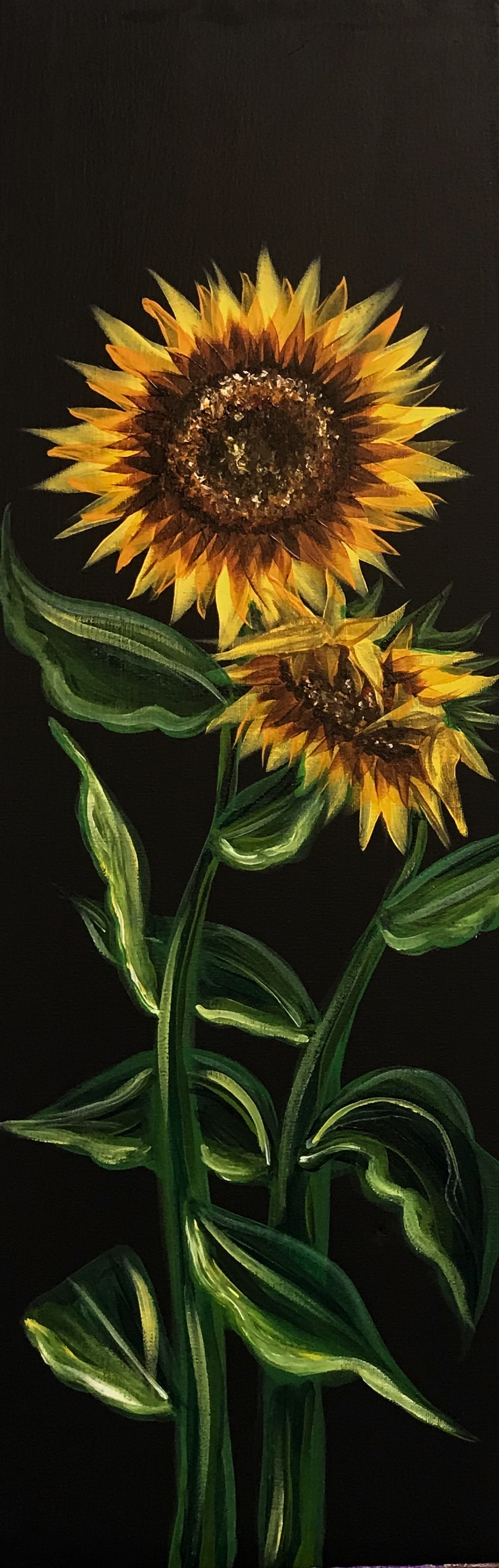 Tall_Canvas_Sunflowers