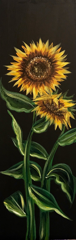 Tall_Canvas_Sunflowers