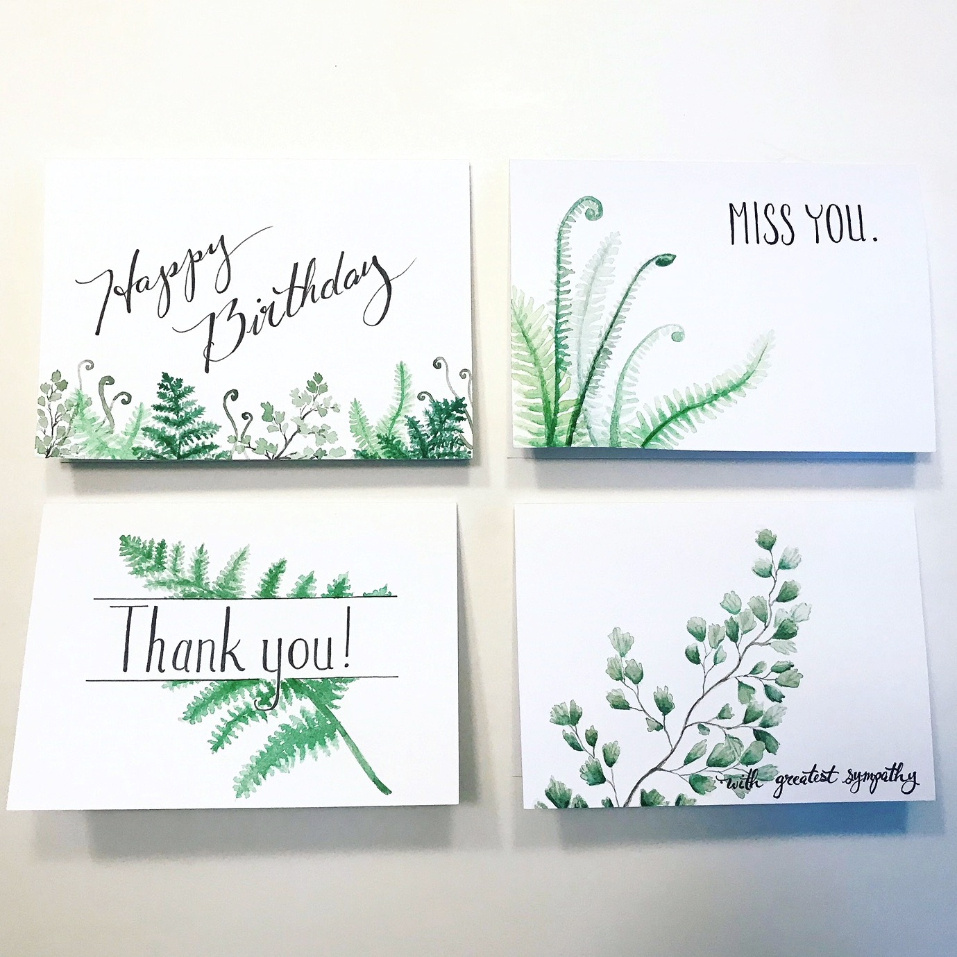 Watercolor_Fern_Cards