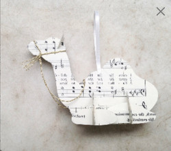Wisemans_Camel_Paper_Ornament