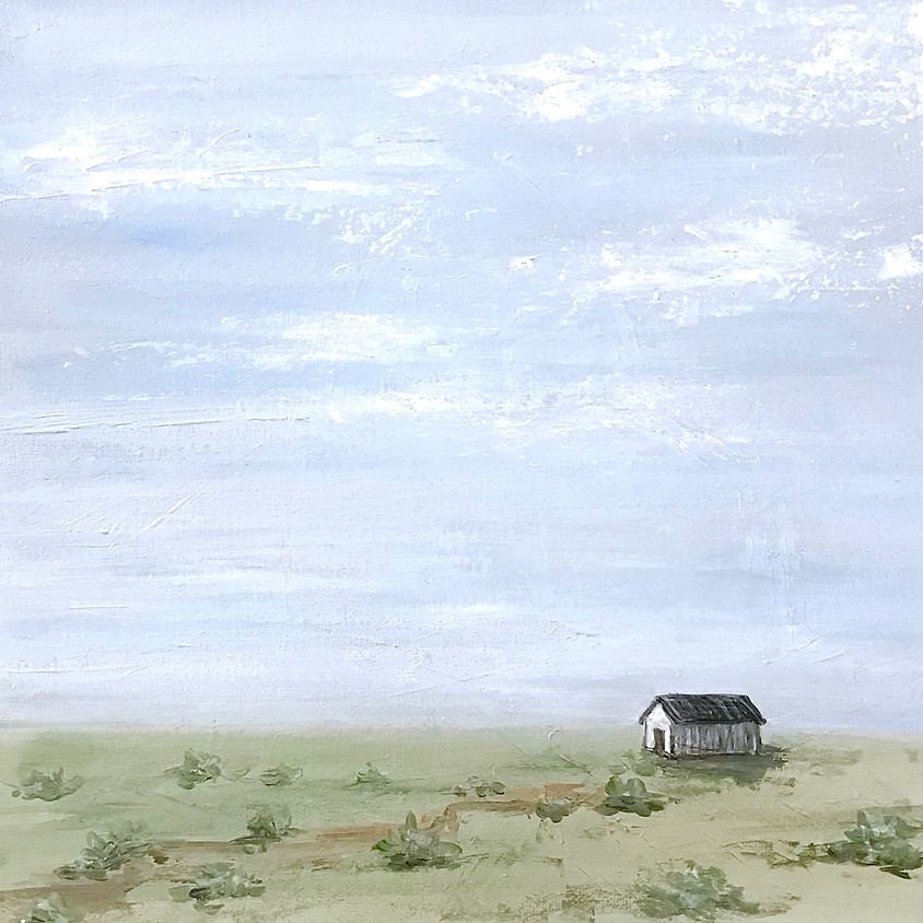 """Grand opening! """"Peaceful Farm"""" Painting"""