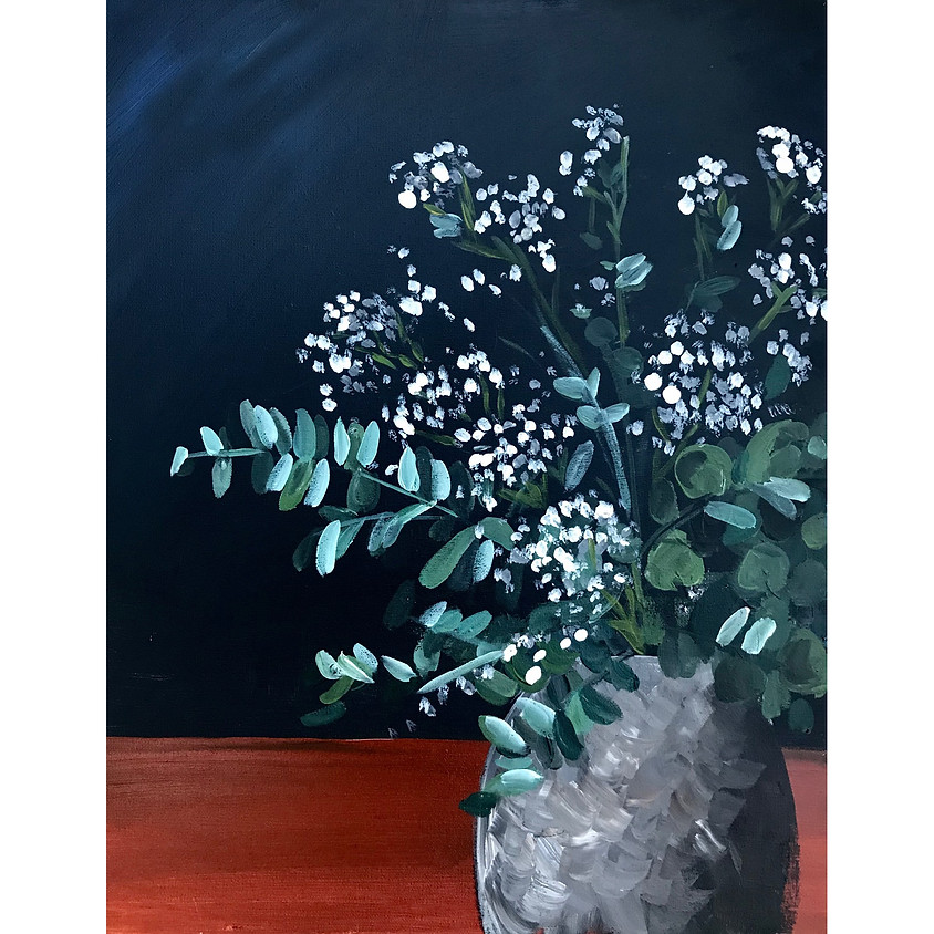 """Lovely Eucalyptus"" - Acrylic Painting (1)"