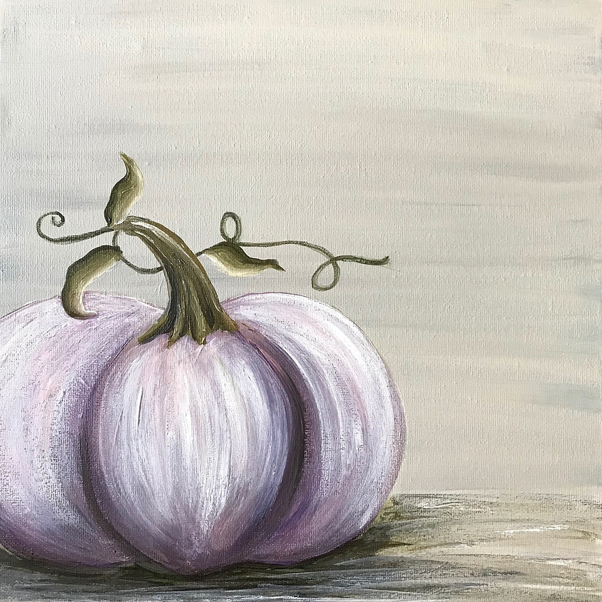 """""""Paint Your Pumpkin"""" - Acrylic Painting"""