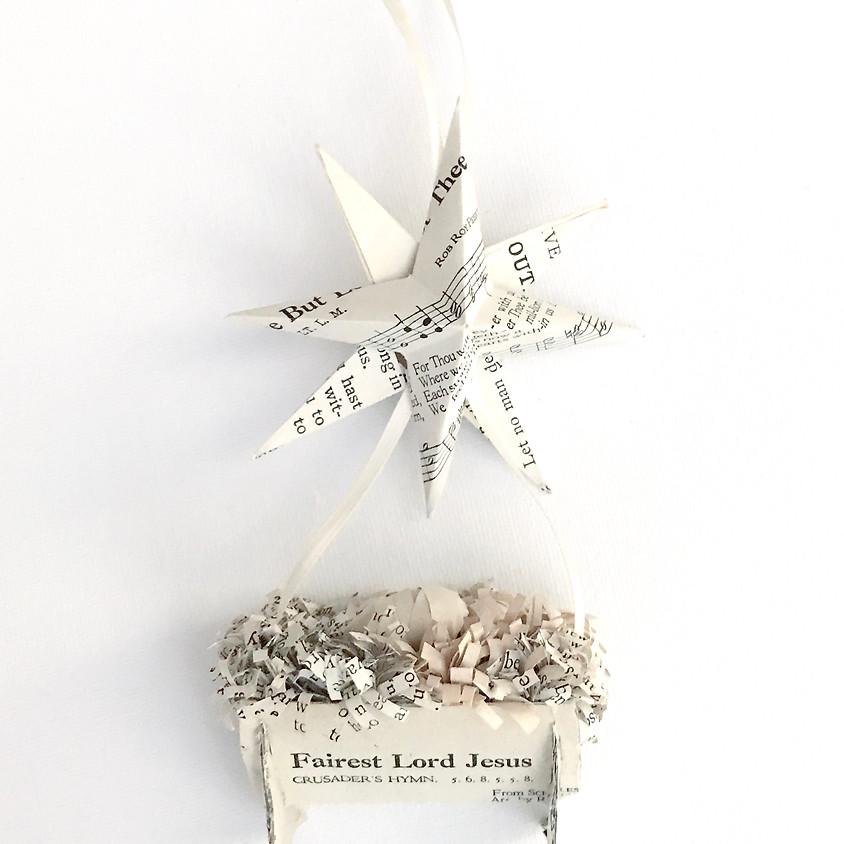 """Baby Jesus"" Paper Ornament Class"