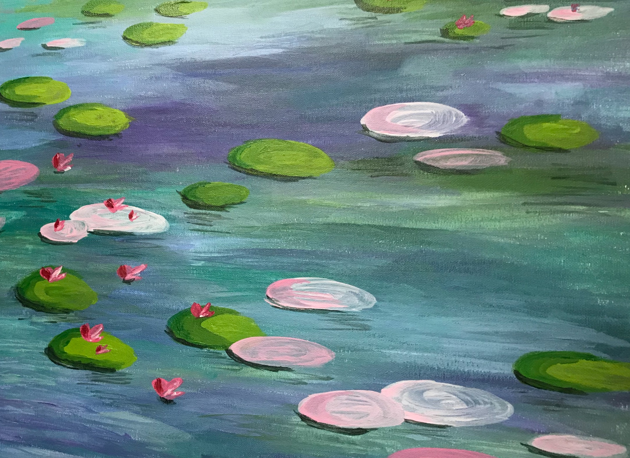 Pastel_Waterlilies
