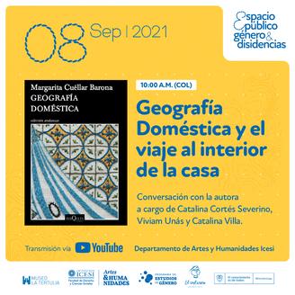 Lanzamiento de la novela Geografía doméstica en Icesi.