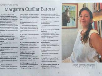 Entrevista corta en El Tiempo - domingo sept. 12/2021