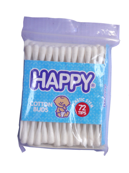 Happy Cotton Buds 72 Tips