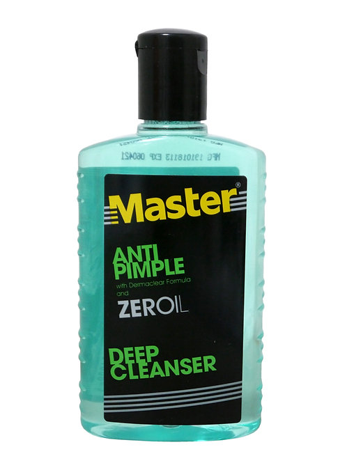 Master Anti Pimple with Derma Clear Formula 135ml