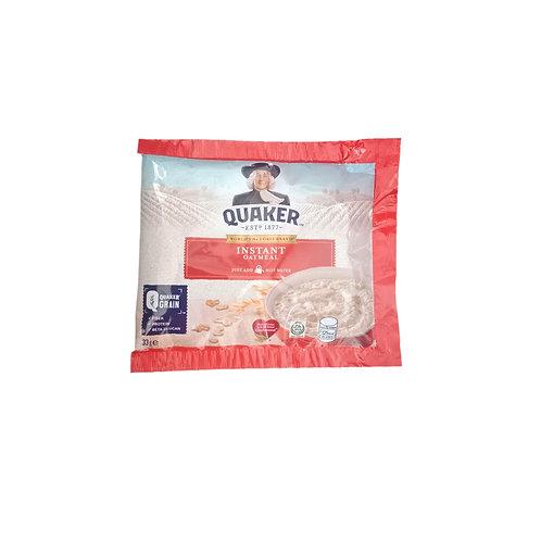 Quaker Instant Oatmeal 33g