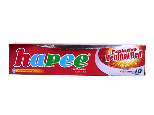 Hapee Toothpaste Explosive Menthol Red 100ml