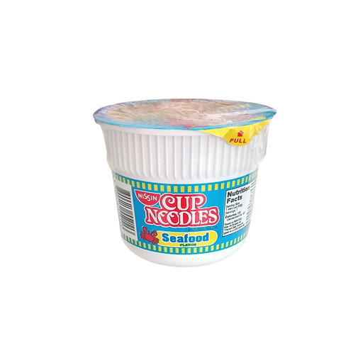 Nissin Cup Seafood Flavor 40g