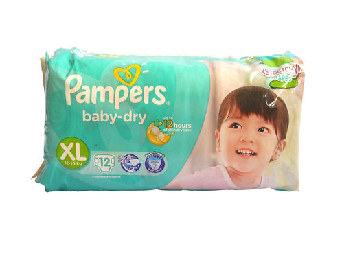 Pampers Baby Dry XL 12