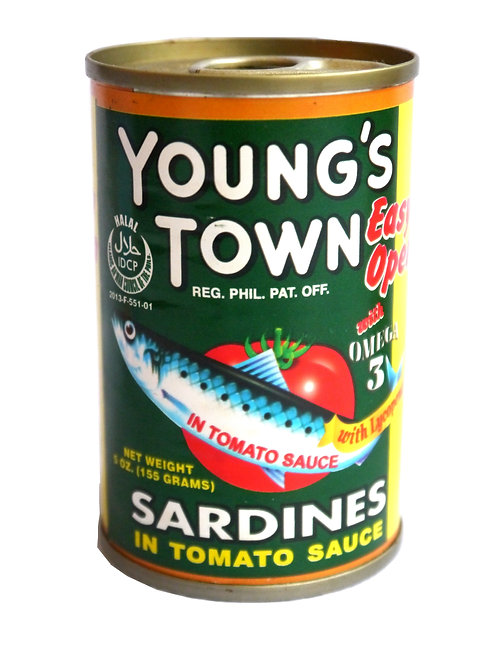 Young's Town Sardines 155g