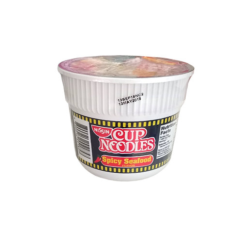Nissin Cup Noodles Spicy Seafood 40g