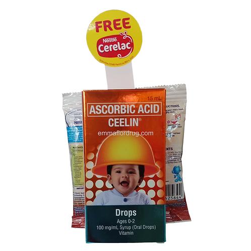 Ceelin Drops 15ml with FREE Cerelac
