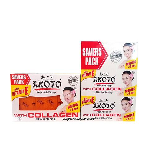 Akoto Kojic Acid Soap with Collagen