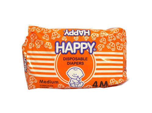 Happy Disposable Diaper Medium 4s