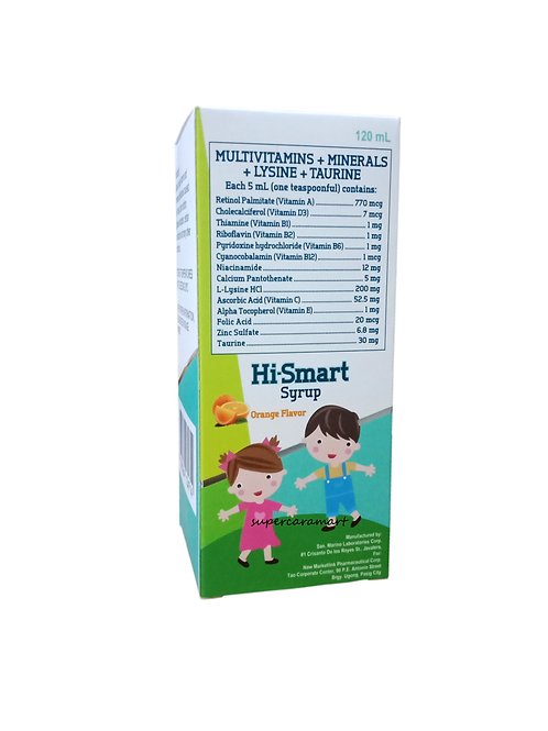 Hi-Smart Syrup 120ml