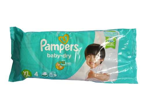 Pampers Baby Dry XL 4s