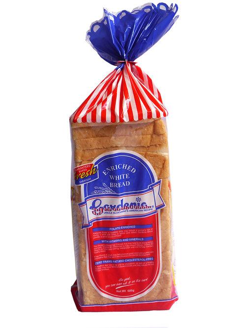 Gardenia Classic White Bread 600g