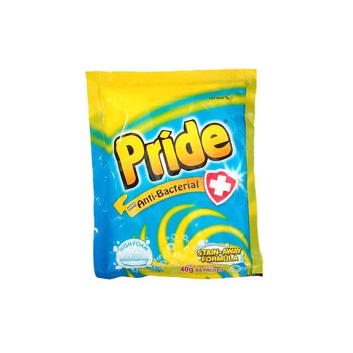 Pride Antibac Detergent Powder 40g