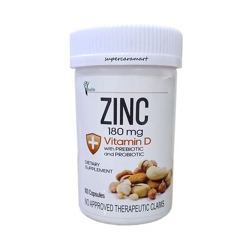 Zinc + Vitamin D with Prebiotic and Probiotic