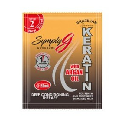 Simply G Keration Conditioner with Argan Oil 22ml