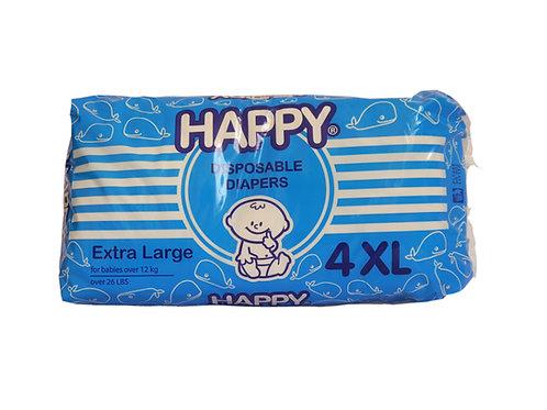 Happy Disposable Diaper XL 4s