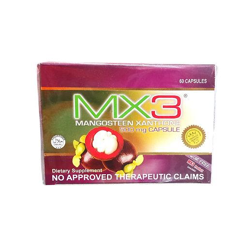 MX3 Mangosteen Xanthone 500mg Capsule 60s