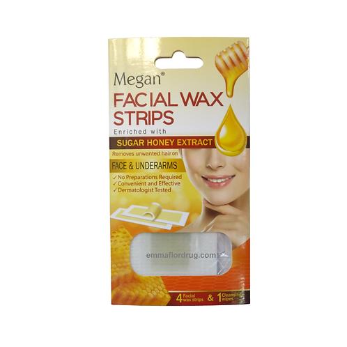 Megan Facial Wax Strips