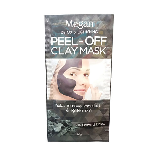 Megan Peel-Off Clay Mask with Charcoal Extract 10g