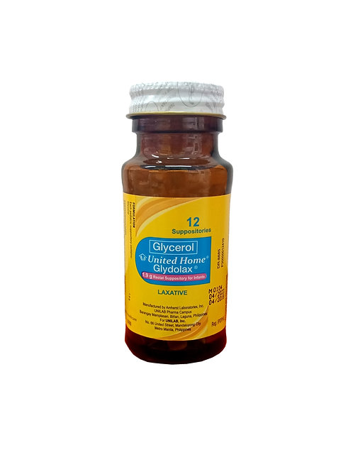 Glydolax Infant Suppository 12's