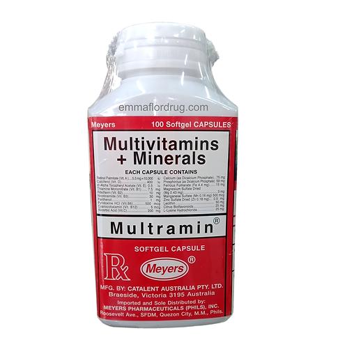 (Multivitamins + Minerals) Multramin Softgel Capsules