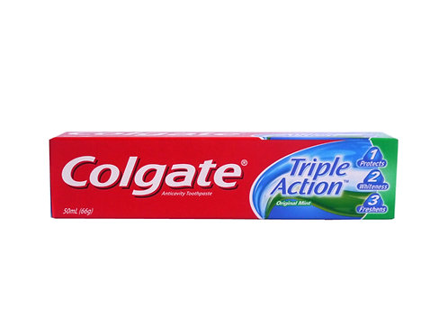 Colgate Toothpaste Triple Action 50ml